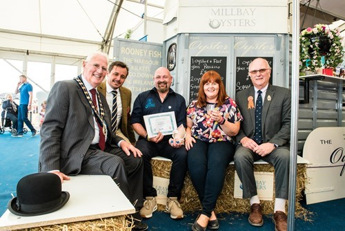 Rooney Fish won the title of Best Trade Stand displaying local food